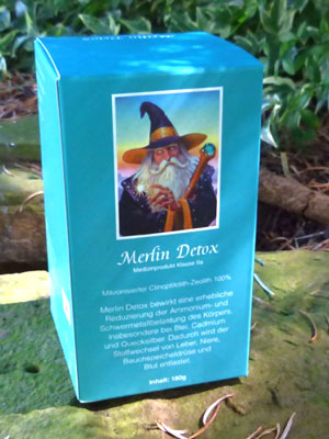 Merlin Detox von J.-C. Alix - 100 Prozent Zeolith-Klinoptilolith