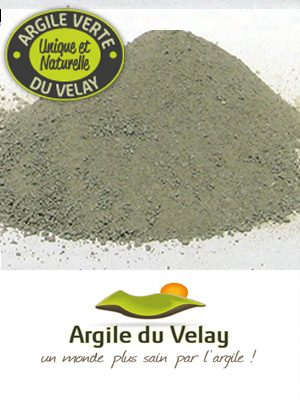 Argile du Velay moulue fine