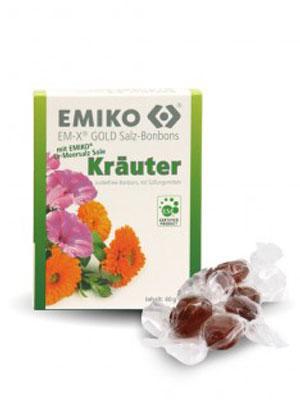 EMIKO Salz Bonbons Kräuter