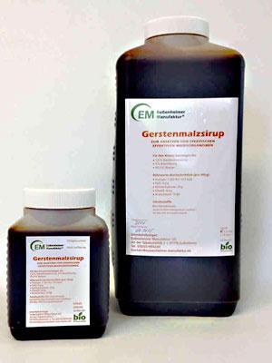 Gerstenmalzsirup Bio 500 ml