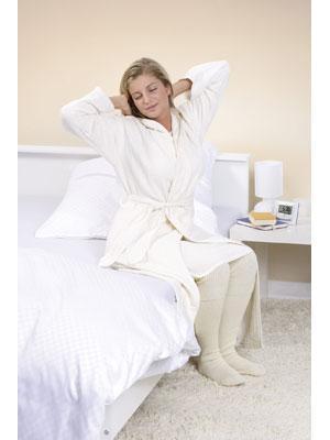 Mantel für die basische Körperpflege