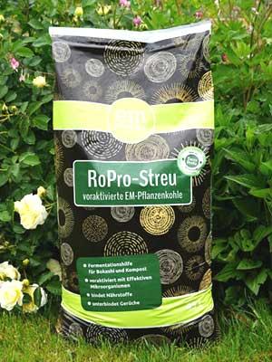 RoPro Streu Pflanzenkohle 45 l