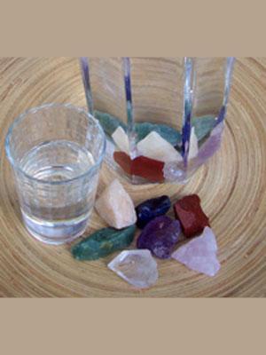 Kristalle zur Wasserbelebung